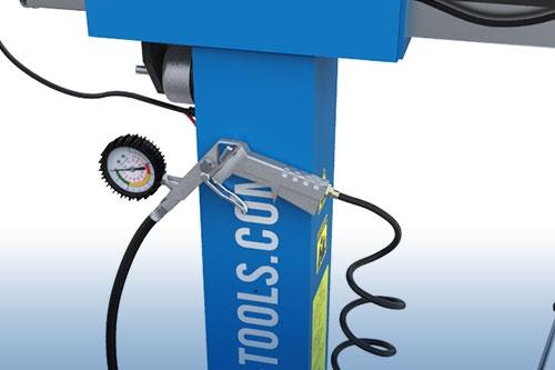 Reifenfüller mit Druckregler