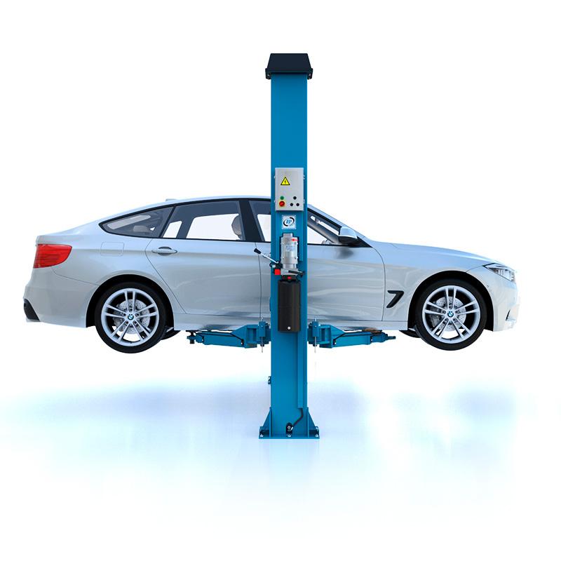 2-Säulen-Hebebühne hydraulisch UV 3,2/4,0 t, 230/400 V, H: 2,82 m RP-6253B2, RP-6254B2