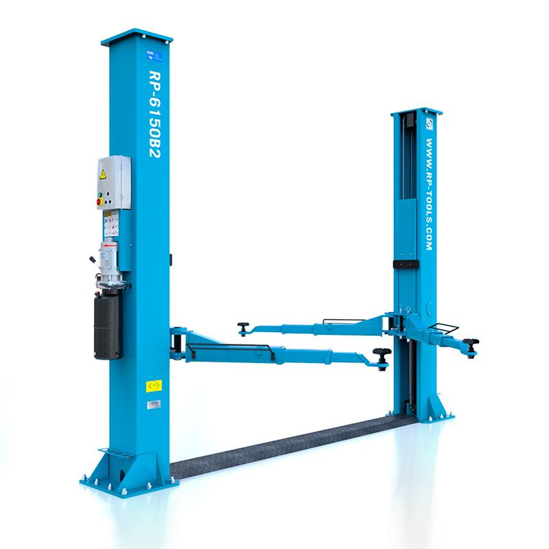 2 Säulen Hebebühne hydraulisch UV 5,0 t,...