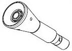Rollenwerkzeug zur Montage/Demontage von schlauchlosen LKW-Reifen für Alufelgen für Reifenmontiermaschine LKW RP-U296P, RP-U290P