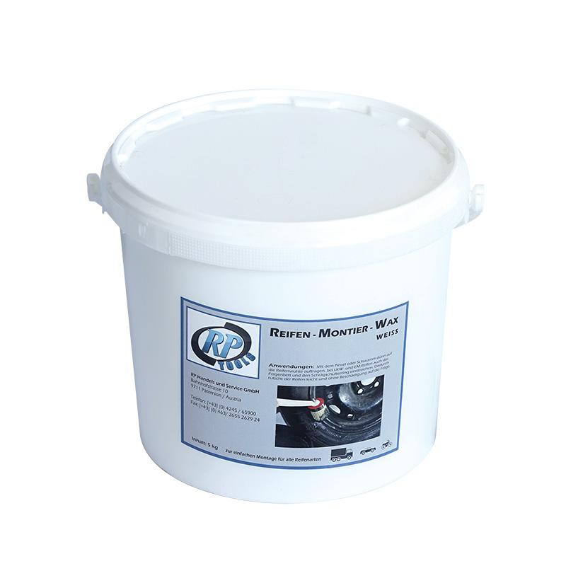 Reifen-Montagewachs, Montagewachs, Reifenmontagepaste, Reifenmontierpaste weiss 5 kg