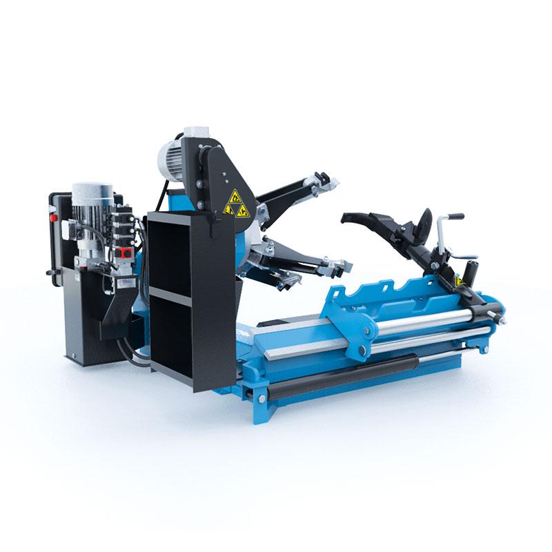 Montiermaschine Reifen LKW automatisch 400V (2 Stufen) 13-27 Zoll mit Fernsteuerung