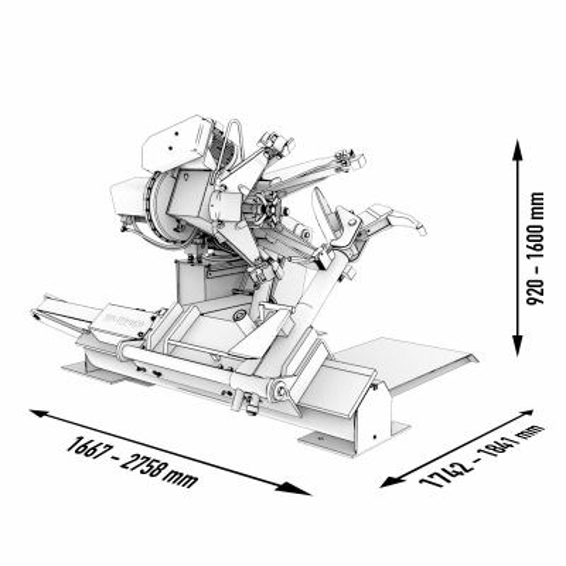 Montiermaschine Reifen LKW automatisch 400V (2 Stufen) 14-56 Zoll mit Fernsteuerung