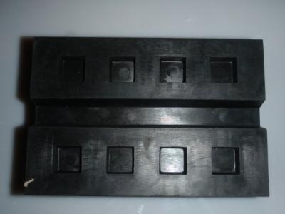 Gummiauflage Gummiklotz Gummiblock 02 für Hebebühnen 180 x 120 x 80 mm Satz 4 Stk.