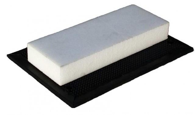 PE-Block Gummiklotz universell für Hebebühnen 340 x 132 x 47 mm