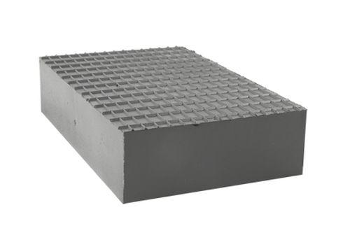 Gummiblock, Gummiklotz für Hebebühnen universell 220 x 140 x 50 mm
