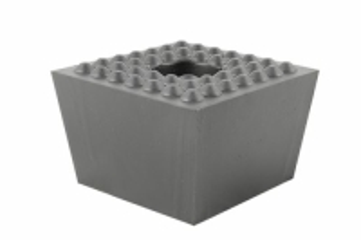 Gummi Trapezblock, Pyramidenklotz universell für Slift/IME Hebebühnen 120 x 120 x 80 mm