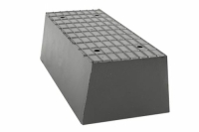 Gummi Trapezblock, Pyramidenklotz, universell für Zippo Hebebühnen 200 x 100 x 70 mm