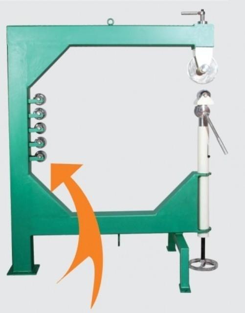 Rollenstreckmaschine English Wheel Eco RP-29-6001 für Karosseriebearbeitung