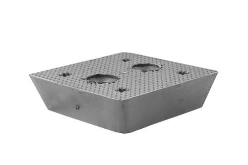 Gummiblock universal für JAB Becker und Autop Hebebühnen 150 x 150 x 40 mm