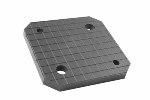 Gummi Trapezblock, Gummiplatte, universell für Hywema Abstützsystem 150 x 150 x 12 mm