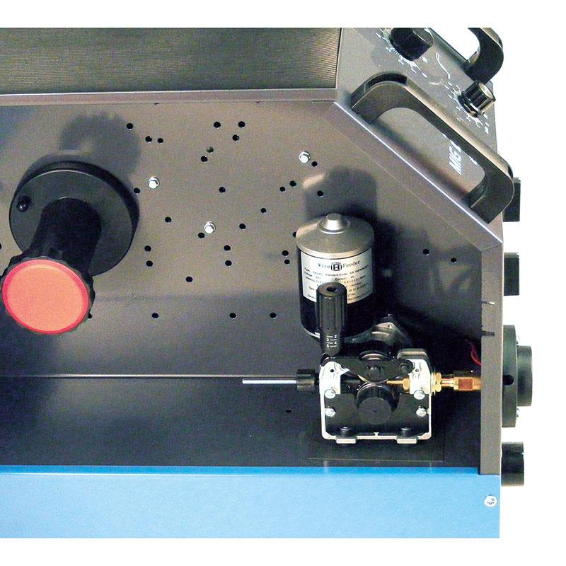 Schutzgas Schweißgerät ecoline MIG MAG luftgekühlt 40-210 A 230/400V manuell 0.6-1.0 mm 2 Rollen Vorschub Made in EU