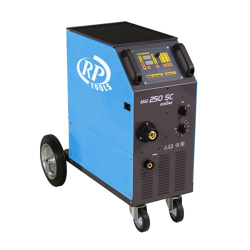 Schutzgas Schweißgerät MIG/MAG luftgekühlt/wassergekühlt 30-420 A 3 x 400 V digital 0.8-1.6 mm 4 Rollen Vorschub Made in EU