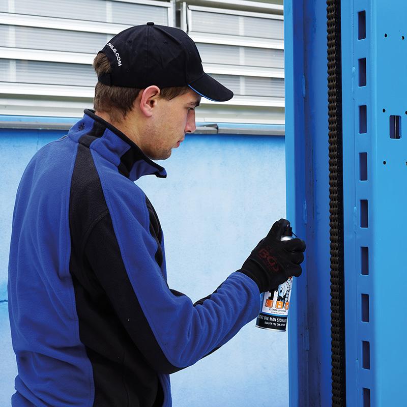 RP-TOOLS-Spray, Hochleistungshaftschmierspray, 500 ml, speziell für Hebebühnen, Montiermaschinen,...