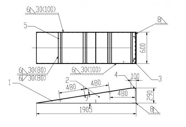 Auffahrrampen Fix für Scherenhebebühne für Achsvermessung Set 2 Stk.