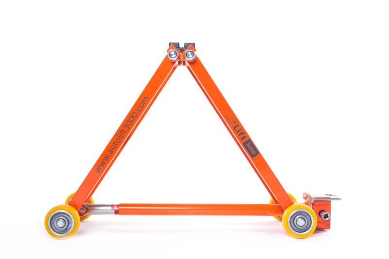 Wartungsfreier mechanischer Rangierwagenheber bis 3.000 kg, 58 cm Hubhöhe