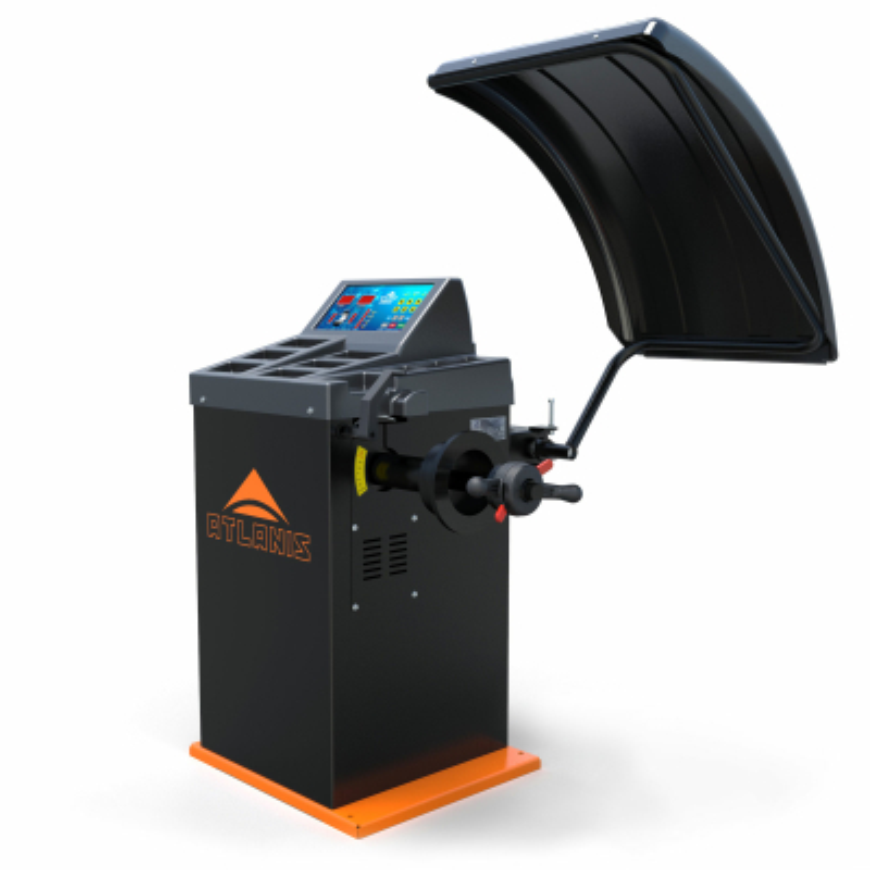 "Auswuchtmaschine Reifen Halbaut. 230V, 10 - 24"" mit LED-Display - A-HA-2000-230V-V03"