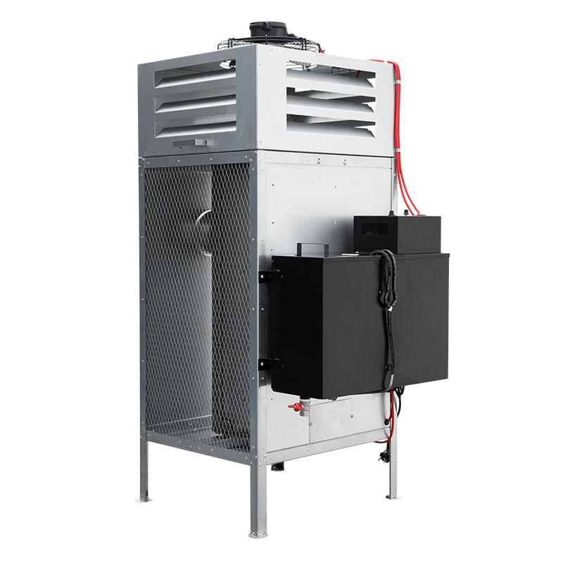 Ofen Universalölofen Universalölheizung Pflanzenölheizung Hallenheizung 8-52 kW