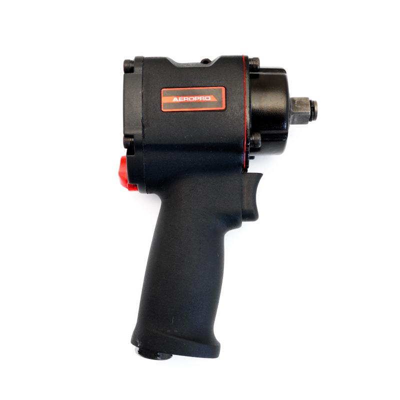 Mini-Schlagschrauber Twin Hammer, 1/2 Zoll, 1000 Nm, 6,3 bar, extra kurz