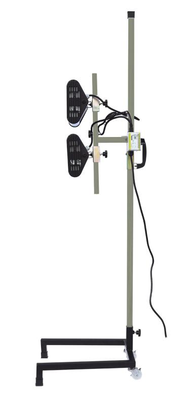 IR-Lacktrockner 2 Lampen 2000 W 230 V RP-S2000ECO Infrarotstrahler Heizstrahler