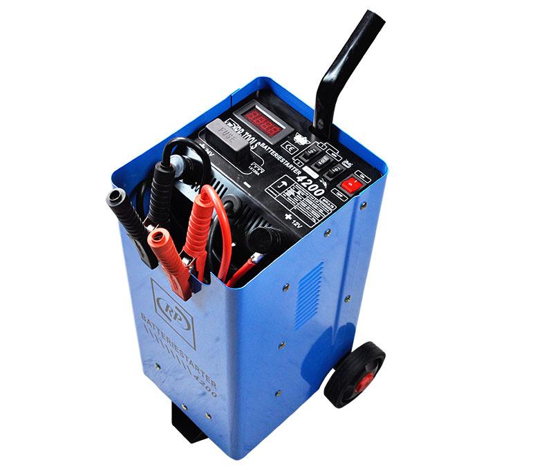 Batterieladegerät Batterielader 12/24 V, Starthilfe...