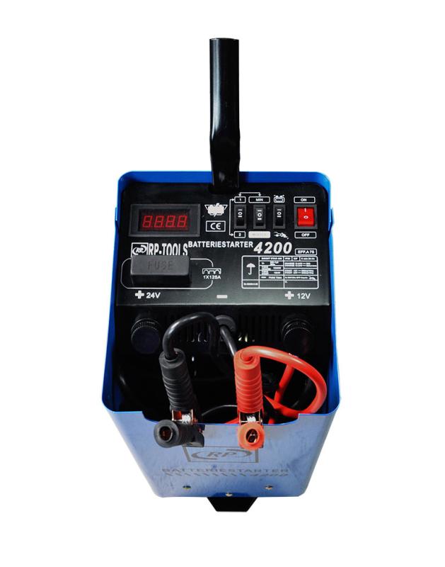 Batterieladegerät Batterielader 12/24 V, Starthilfe 400 A 12/24 V Booster Ladegerät