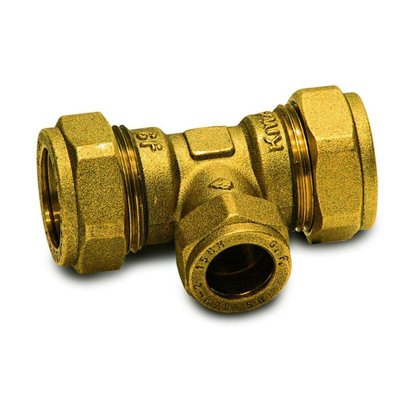 T-Reduzier-Verbinder 22 - 15 - 22 mm