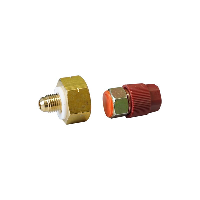 Flaschenadapter mit Schnellverschlusskupplunganschluss 1/4 Zoll