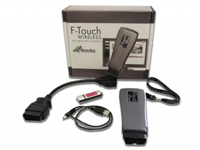F-Touch Wireless Autodiagnose System Diagnosegerät BrainBee
