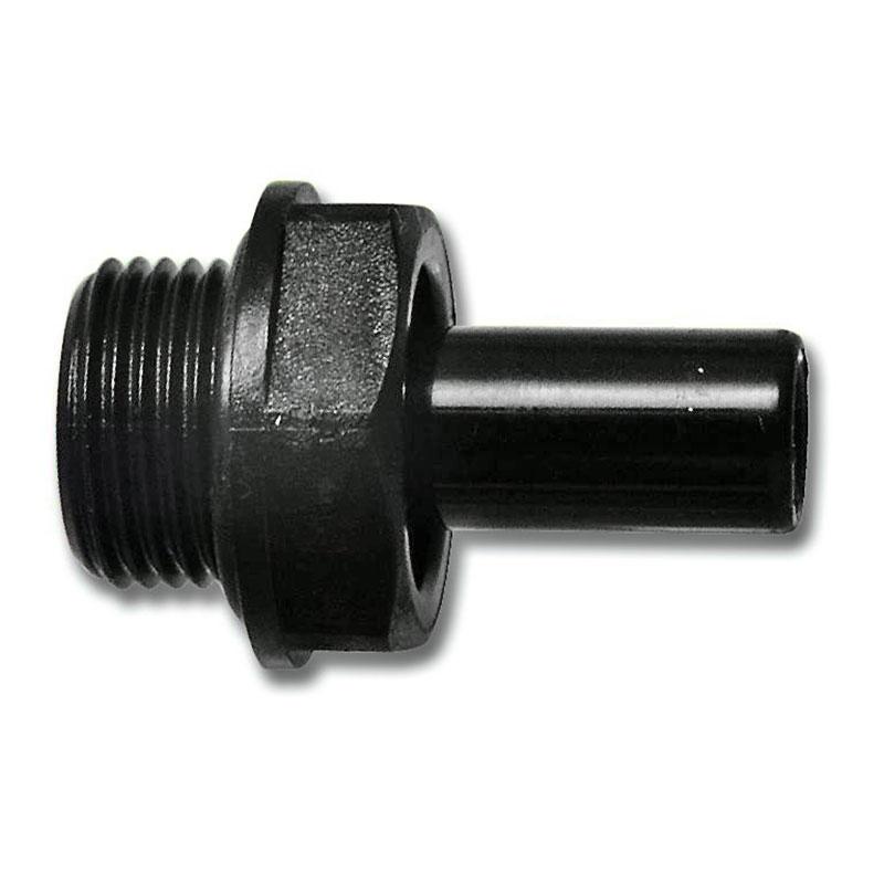 Anschluss mit Außengewinde 15 mm