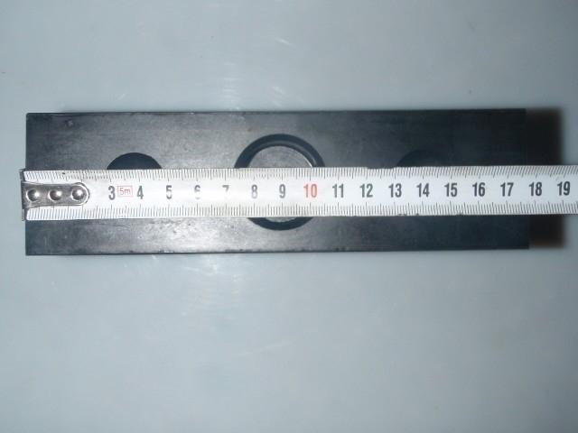 Gummiauflage Gummiklotz Gummiblock 03 für Hebebühnen 180 x 100 x 50 mm 1 Stk.