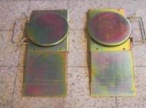 Hinterachsdrehplatten zur Vermessung der Hinterachse