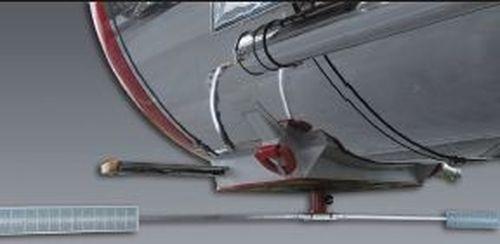 Lasermesssystem zur Aufliegervermessung