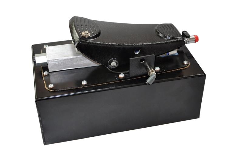 Pedalpumpe 400 Bar mit Fußsteuerung - Made in Italy - für TS6000